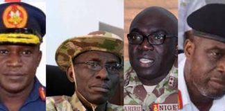 Profile: Meet The New Service Chiefs Appointed To Tackle Insurgency In Nigeria