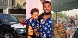 Singer D'Banj Gifts Wife A Range Rover Velar On Valentine's Day (Video)