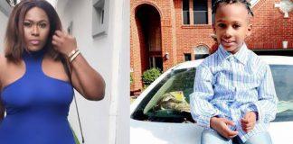 Uche Jombo Shares Cute Photo With Her Son, Matthew