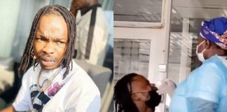 Naira Marley Shares Hilarious Video Of Him Getting Tested For COVID-19
