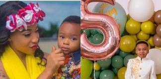 """Tonto Dikeh Buys """"A Star In Sky"""" For Her Son On His Birthday"""