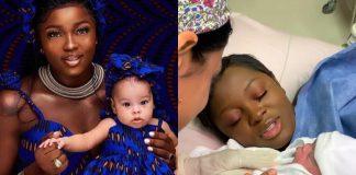 BBNaija Ka3na Shares Throwback Video Ahead Of Daughter's Birthday