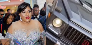 Actress, Toyin Abraham Acquires Brand New Brabus G-Wagon Worth N85Million