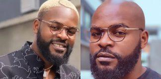 Rapper Falz Shows Off His Bald Hairdo