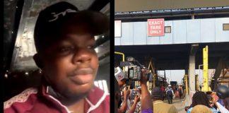 Mr Macaroni Arrested By Police At Lekki Tollgate (Video)