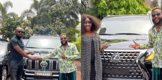E-Money Gifts His Friends With Swanky Cars To Mark His 40th Birthday