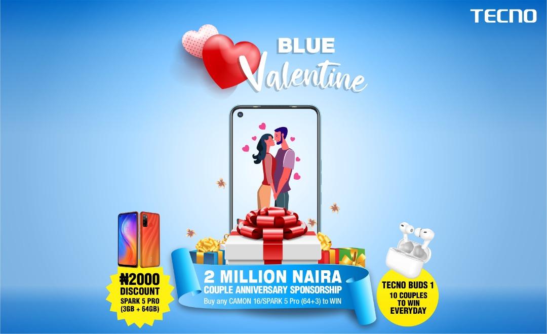 TECNO's Blue Valentine Has Huge Rewards for Couples!