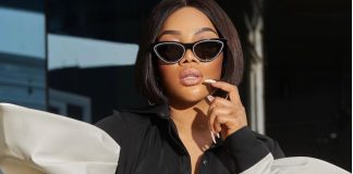 Toke Makinwa Shares Sultry Photo