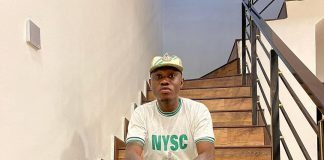 Nigerians React As Zlatan Ibile Shares Photos Of Himself In NYSC Uniform