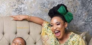 Tonto Dikeh Pens Sweet Message To Her Son Ahead Of His 5th Birthday