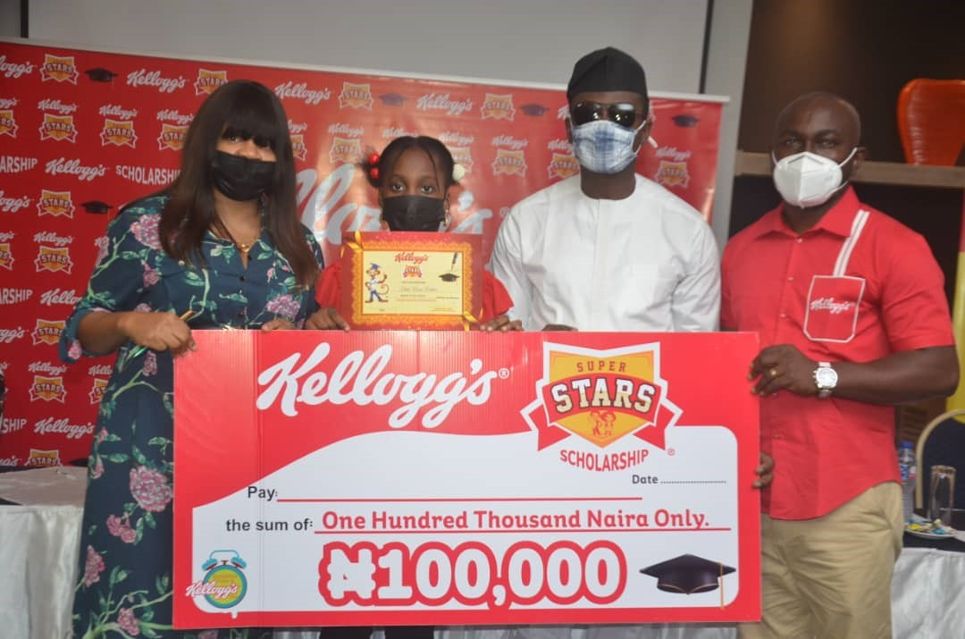100 CHILDREN RECEIVE KELLOGG'S SUPERSTARS SCHOLARSHIP ACROSS NIGERIA