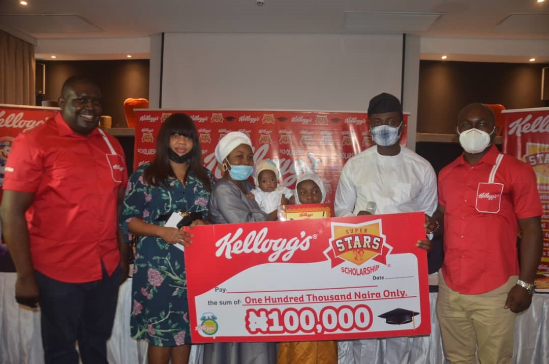 100 CHILDREN RECEIVE KELLOGG'S SUPERSTARS SCHOLARSHIP ACROSS NIGERIA