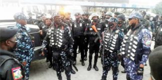 VIDEO: Suspected Protesters Arrested At Lekki Tollgate