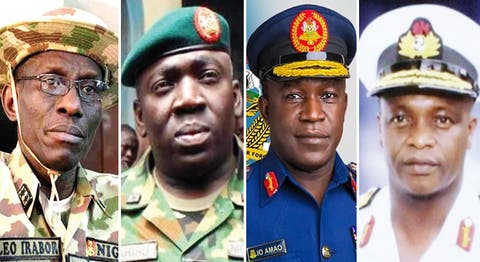 House Of Reps Confirm New Service Chiefs