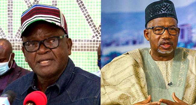 Ortom Slams Bala Mohammed, Calls Him 'Terrorist Terrorising Nigeria'