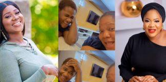 Mercy Johnson, Toyin Abraham Link Up (Video)