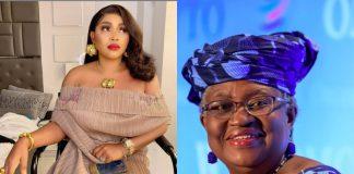 WTO: Mercy Aigbe Congratulates Ngozi Okonjo-Iweala