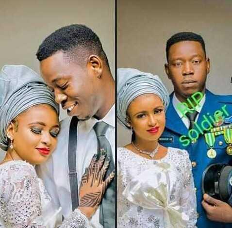 Armed bandits kill a Nigerian Air Force personnel three weeks to his wedding (photos) - All Naija Media