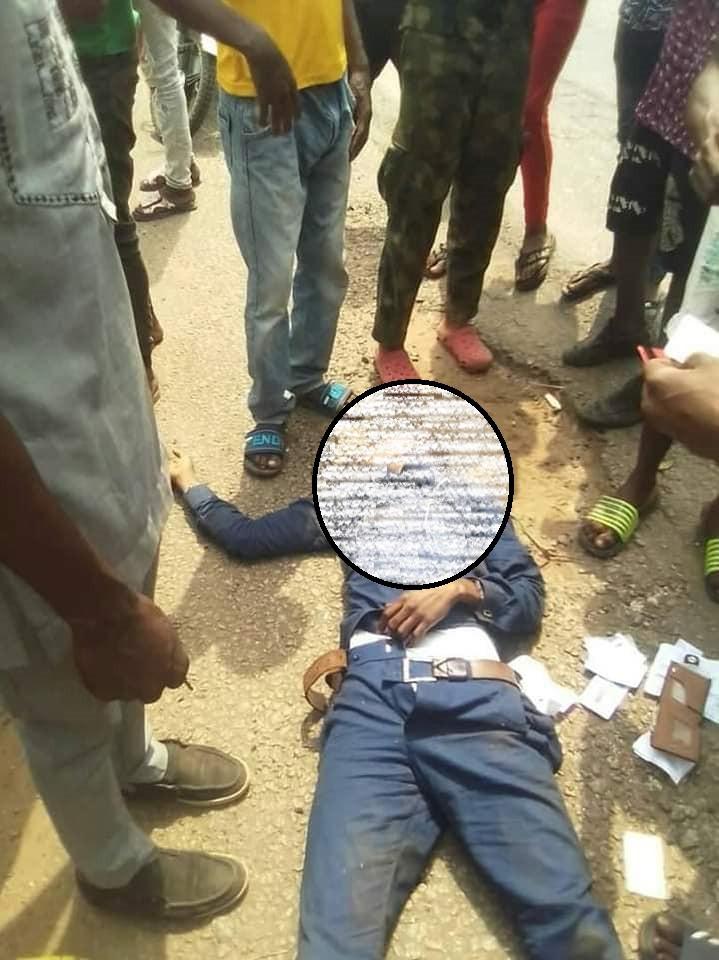 A Gallant Nigerian Soldier Killed A Month After His Wedding In Maiduguri(photos) - Crime - Nigeria