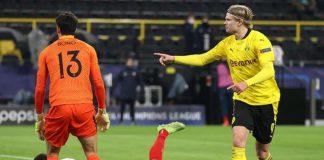 Haaland Fires Dortmund Into UCL Quaterfinals