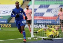 Iheanacho Scores Brace As Leicester Falls Against W/Ham