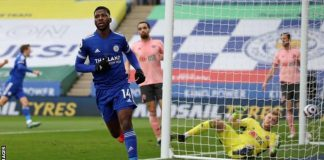 Iheanacho Scores Brace As Leicester Falls Against W/Ham