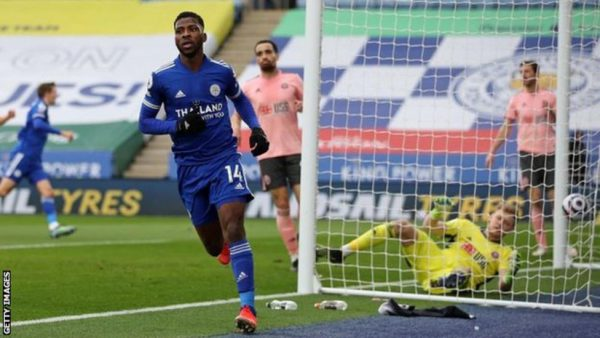 Kelechi Iheanacho Named Premier League Player Of The Month For March