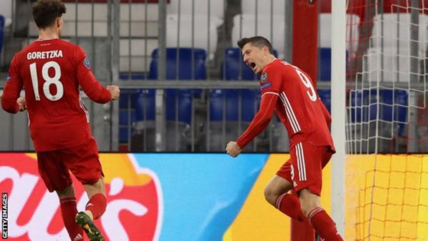 Defending Champion, Bayern Ease Into UCL Last Eight