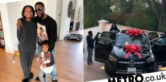 Kevin Hart Surprises His Daughter With A Mercedes SUV For Her 16th Birthday