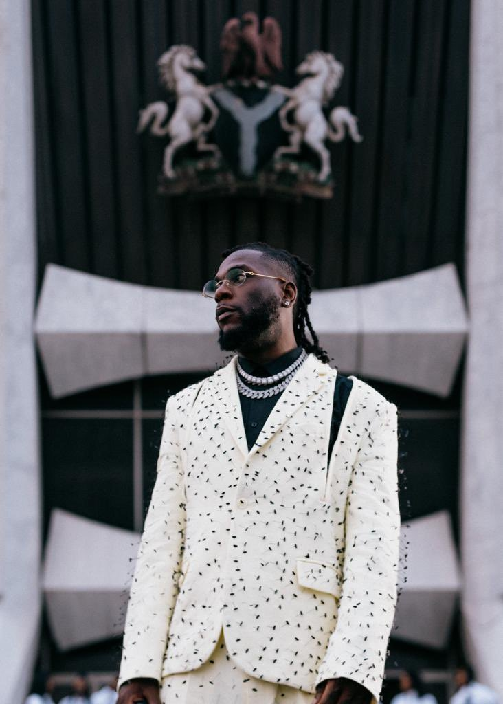 Burna Boy Wins A Grammy For His Album, 'Twice As Tall'
