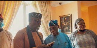 2023: Okorocha Meets Obasanjo In Abeokuta