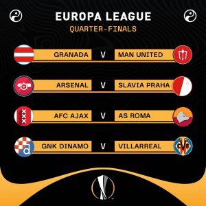 Europa League quarterfinals