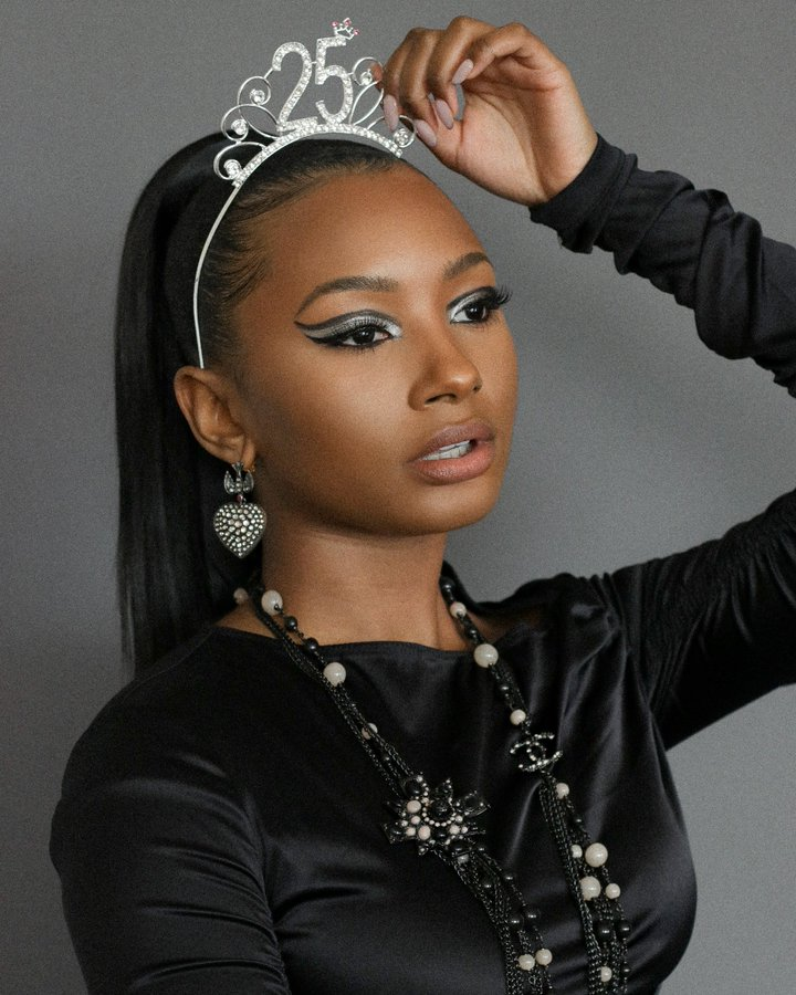 Temi Otedola Celebrates As She Clocks 25