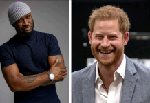 Nigerians Compare Singer Peter Okoye To Prince Harry