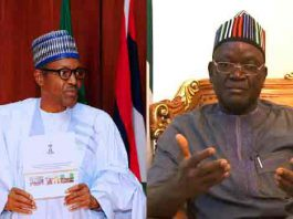 Buhari Condemns Attack On Ortom, Says Incident Should Not Be Politicised
