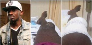 Singer May D Suffers Burn Injuries As Fire Guts His House