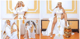 Toyin Lawani's Racy Nun Outfits Spark Outrage