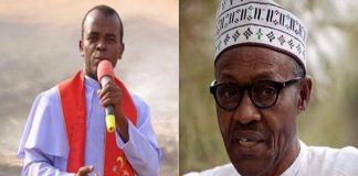 BREAKING: God Is Angry With Buhari, He Should Resign – Mbaka