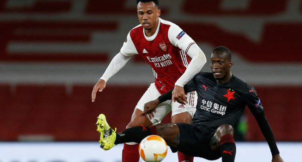 Slavia Prague Score Late Equaliser Against Arsenal