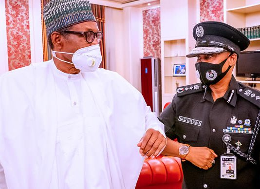 BREAKING: Buhari Meets Acting IGP Baba