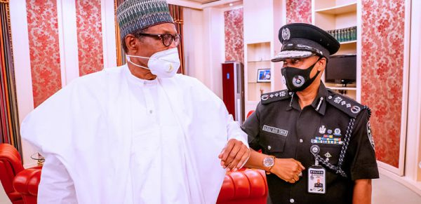 BREAKING: Buhari Meets Acting IGP Baba