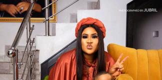 Actress Nkechi Blessing Celebrates Son's Birthday