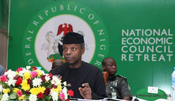 Nigeria, UN To Train, Employ 20 Million Youths – Osinbajo