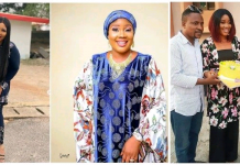 Actor Segun Ogungbe's Second Wife, Omowunmi Ajiboye Celebrates His First Wife As She Clocks 44