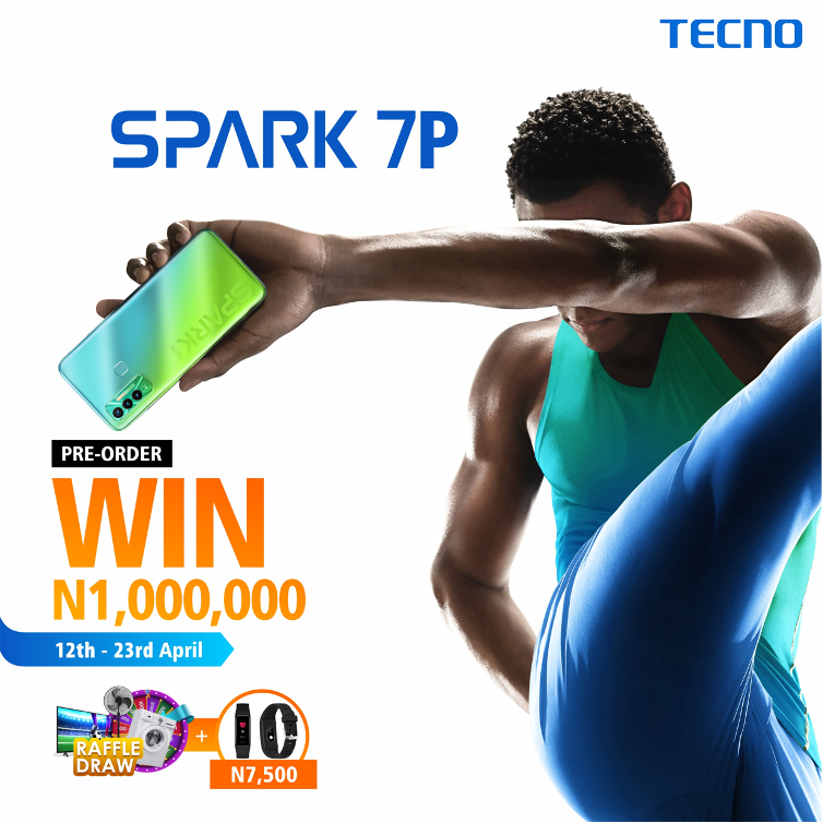 Tecno's Spark 7P Smartphone Unveiled With A Super-swift Refresh Rate