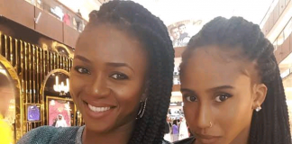 Singer Waje Spotted Showing Off Dance Moves With Daughter