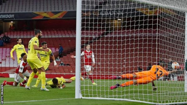 Villareal Knocks Out Arsenal
