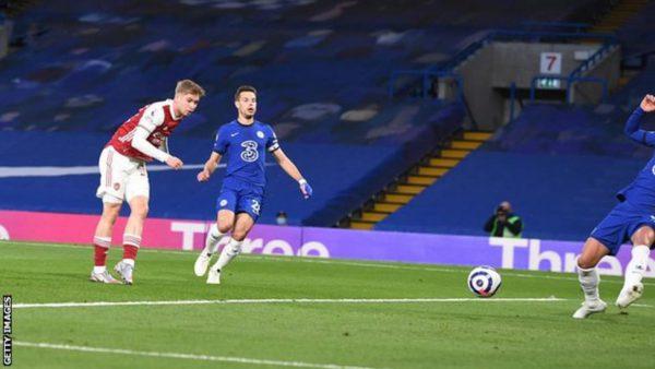 Smith Rowe Scores As Arsenal Beat Chelsea