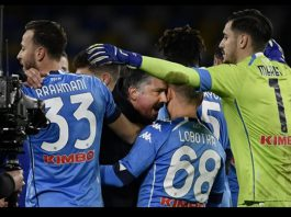 Napoli Beat Fiorentina To Keep Champions League Ambitions Alive