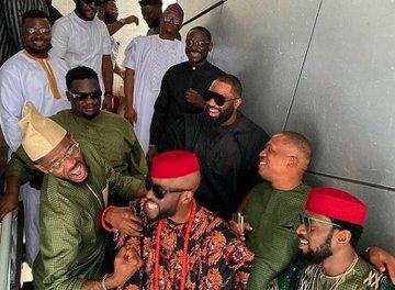Mo Hits Crew Reunite At Ikechukwu's Wedding